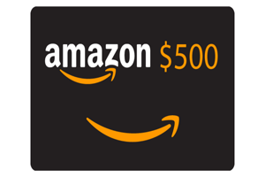 Get A $500 Amazon Gift Card